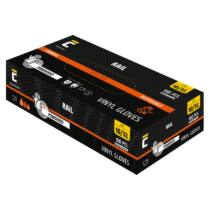 Rail púderes vinyl kesztyű - 100db-os doboz (M, L vagy XL méretben)
