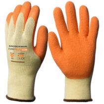 1LACO Eurogrip narancssárga szerelőkesztyű tenyéren latex mártással (8-11)
