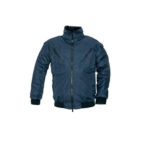 Pilot kék kabát