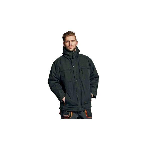 Emerton téli kabát fekete színben (S-4XL)