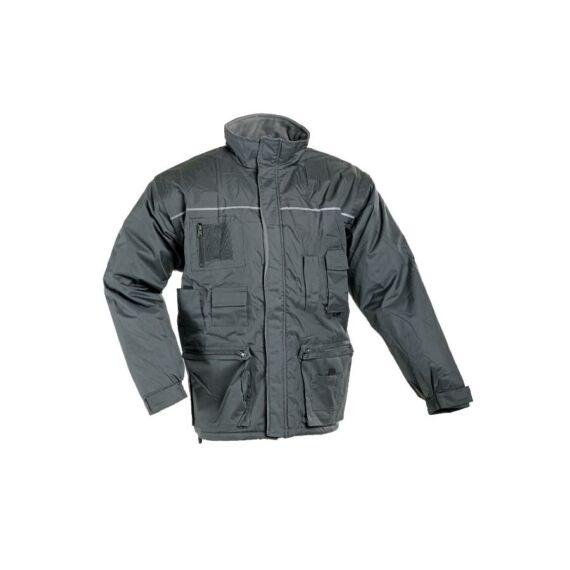 Libra szürke téli kabát