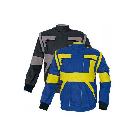 Max kabát 260g/m² fekete-szürke színben (44-68)