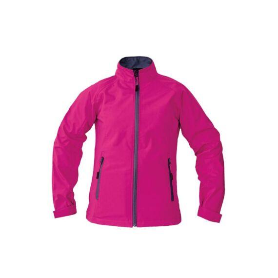 Gaula Lady női softshell dezseki sötét rózsaszín - S / L / XXL