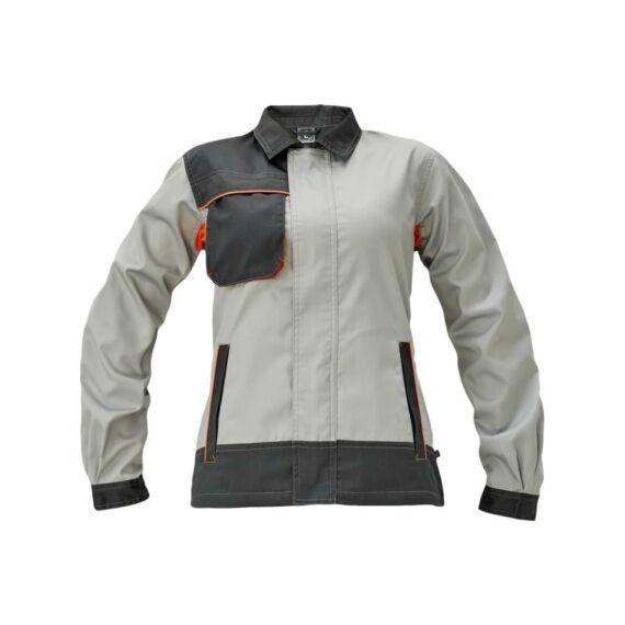 Montrose Lady női szürke/sötétszürke kabát (34-54)