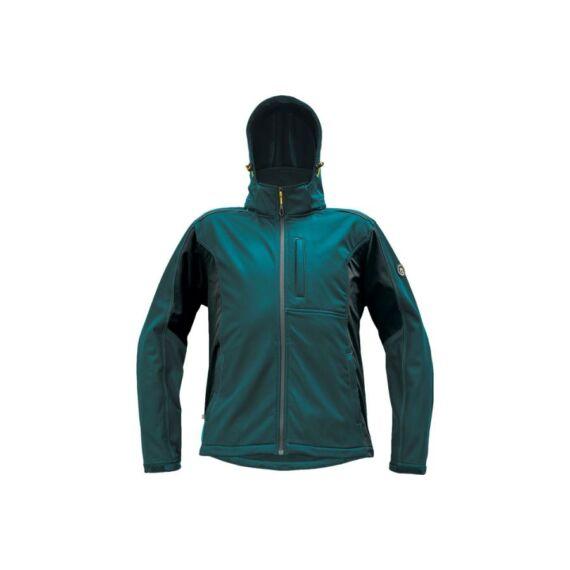 DAYBORO softshell dzseki petrol kék (S-4XL)