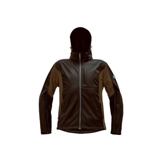 DAYBORO softshell dzseki sötét barna (S-4XL)