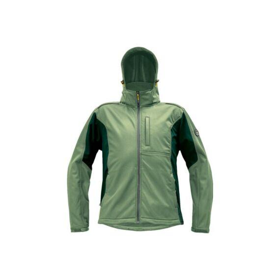DAYBORO softshell dzseki szürkés zöld (S-4XL)
