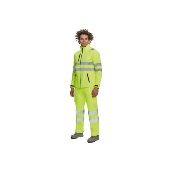 Murcia softshell HV sárga kabát (S-3XL)