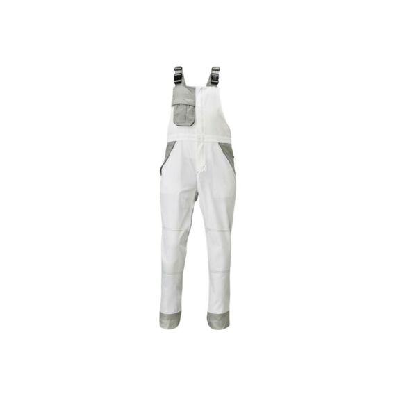 Montrose fehér/szürke mellesnadrág (44-66)