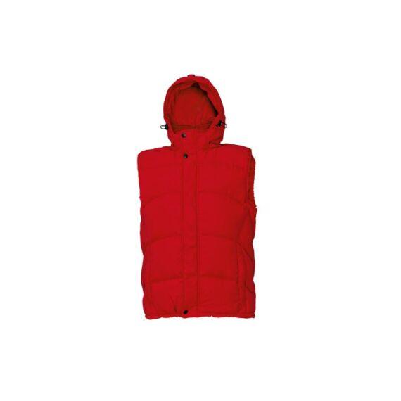 Meslay női mellény piros színben - S / L / XXL