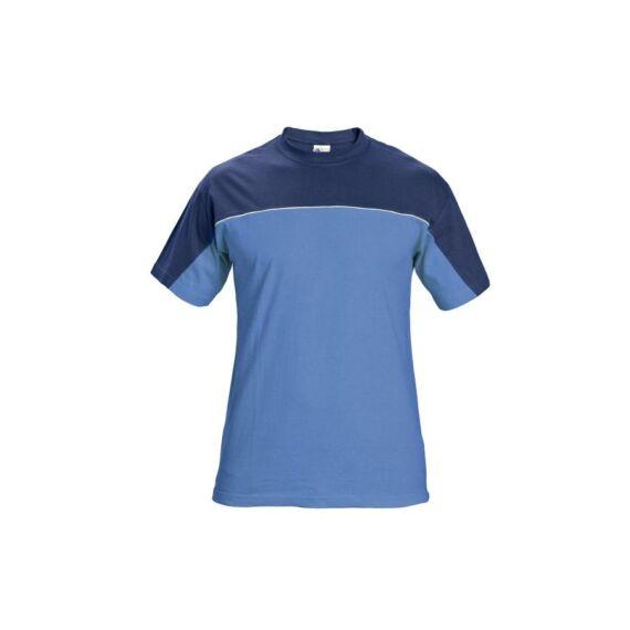 Stanmore kék rövid ujjas póló (S-4XL)