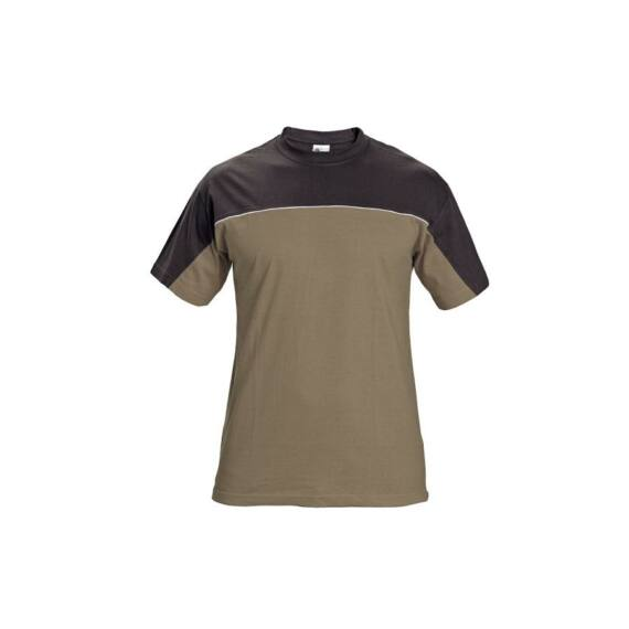Stanmore sötét barna rövid ujjas póló (S-4XL)