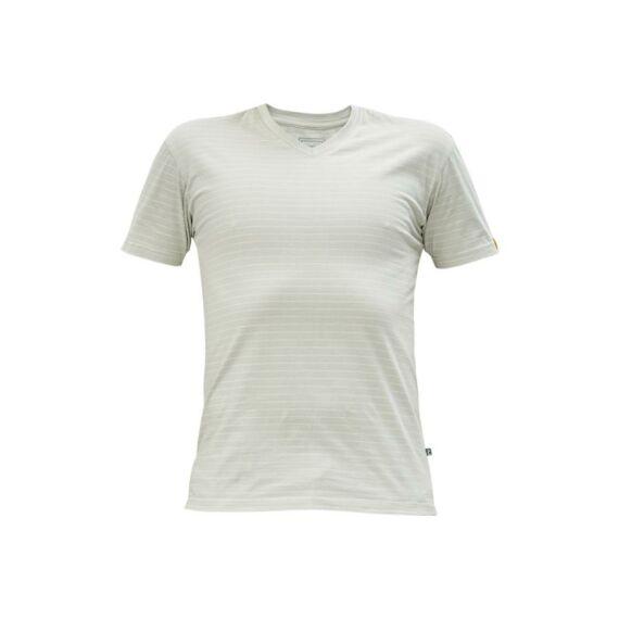 Noyo ESD V-nyakú póló szürke (XS-3XL)