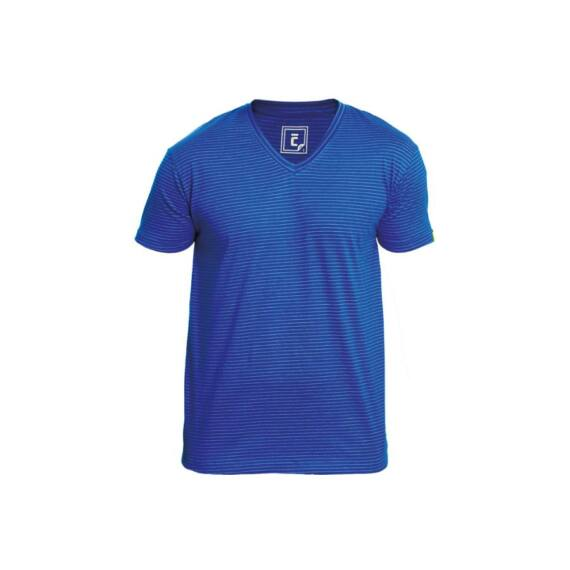 Noyo ESD V-nyakú póló royal kék (XS-3XL)