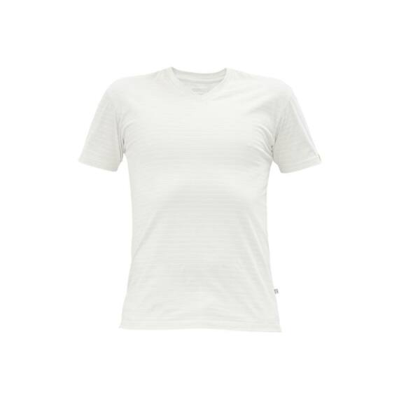 Noyo ESD V-nyakú póló fehér (XS-3XL)