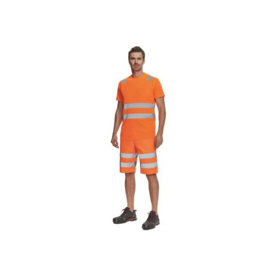 Teruel HV rövid ujjú narancssárga póló (XS-5XL)
