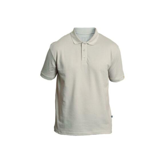 Noyo ESD galléros rövid ujjú póló szürke (XS-3XL)