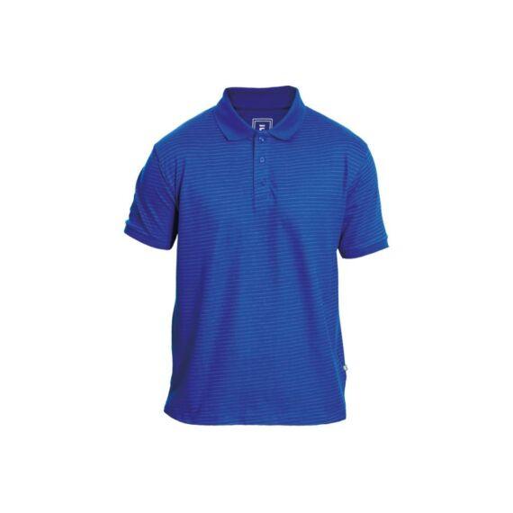Noyo ESD galléros rövid ujjú póló royal kék (XS-3XL)