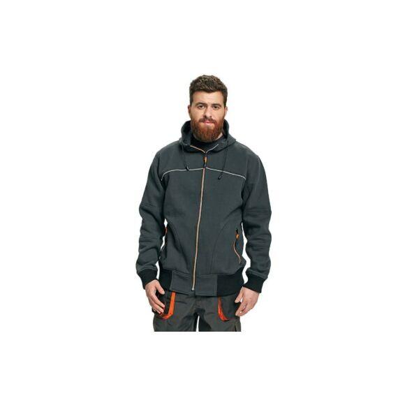 Emerton pulóver fekete színben (S-3XL)