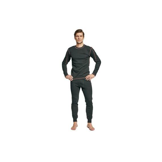 Abild hosszú fekete alsó nadrág (S-3XL)