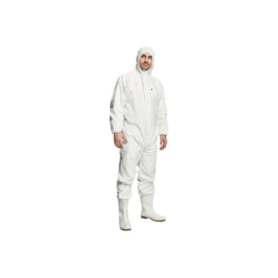 Chemsafe 500 fehér overál (M-2XL méretekben)
