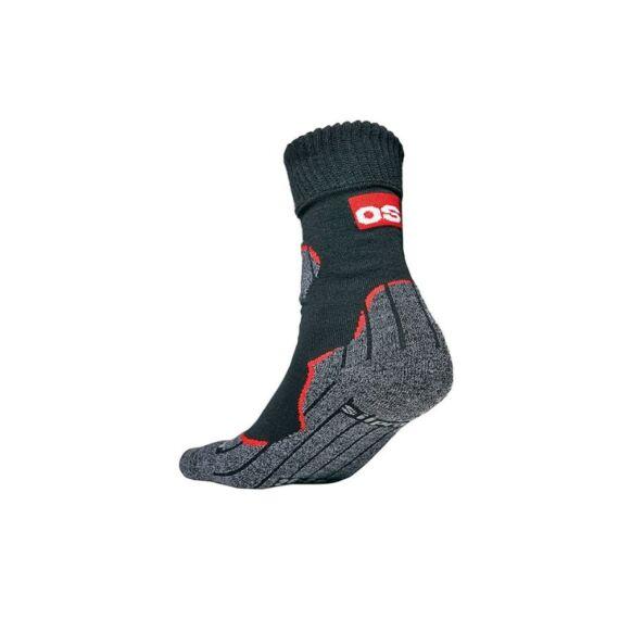 Holtum fekete zokni (39-46)