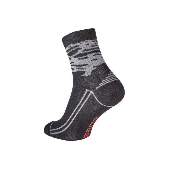 Katea szürke-fekete zokni (39-46)