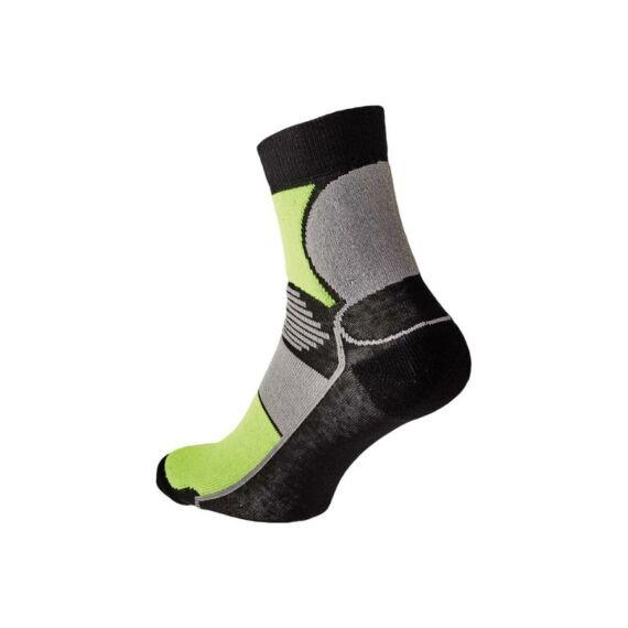 Knoxfield Basic sárga-fekete zokni (39-46)