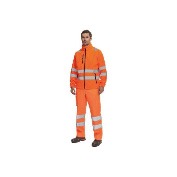 Almeira HV polár pulóver narancssárga (S-3XL)