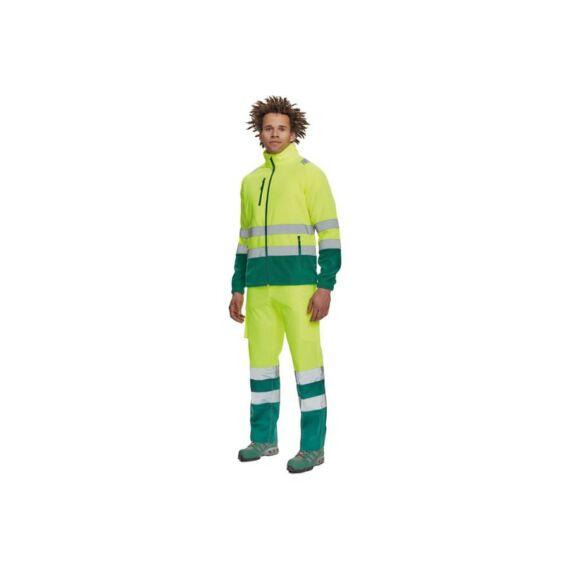 Sevilla HV polár pulóver sárga/zöld (S-3XL)