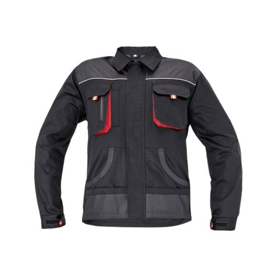 FF Hans kabát fekete/szürke (46-64)