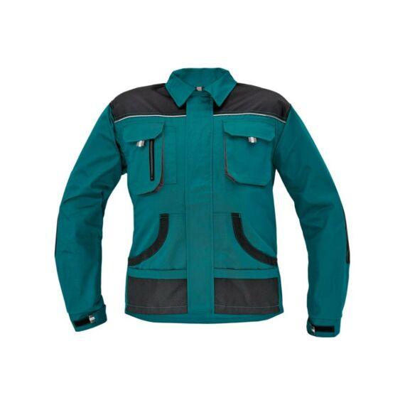 FF Hans kabát zöld/szürke (46-64)