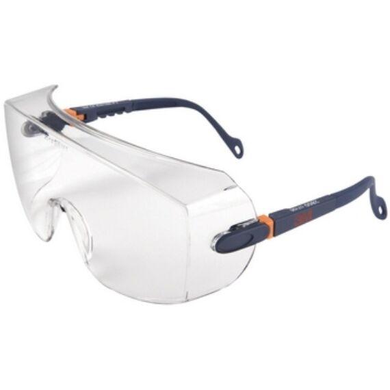 3M 2800 védőszemüveg víztiszta lencsével, karcálló felülettel
