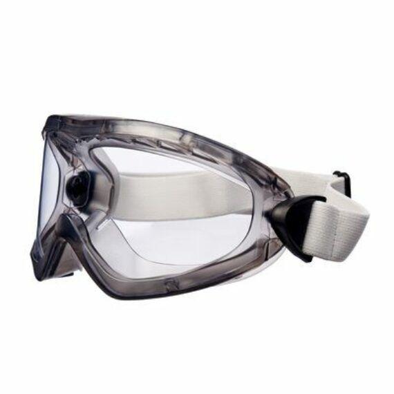 3M 2890A zárt víztiszta szemüveg acetát lencsével (vegyszerálló, indirekt szellőzés)