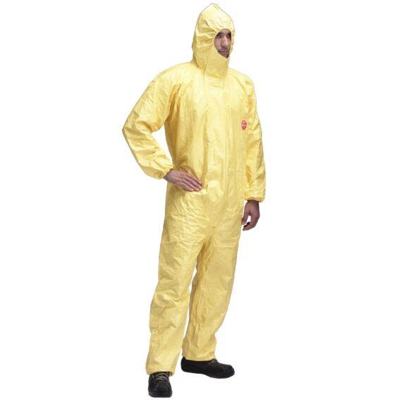TyChem C sárga vegyszerálló overál (3XL méretben)