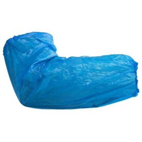 Egészségügyi polietilén karvédő kék színben (100db / csomag)