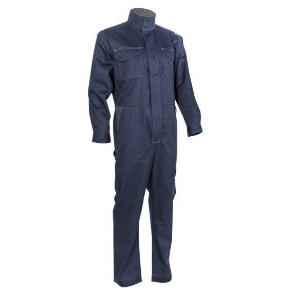 Irazu kék ipari overál (S-4XL)