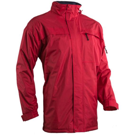 Pole-Nord piros bélelt kabát (XS-3XL)