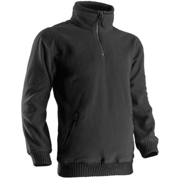 Angara bebújós fekete pulóver (S-2XL)