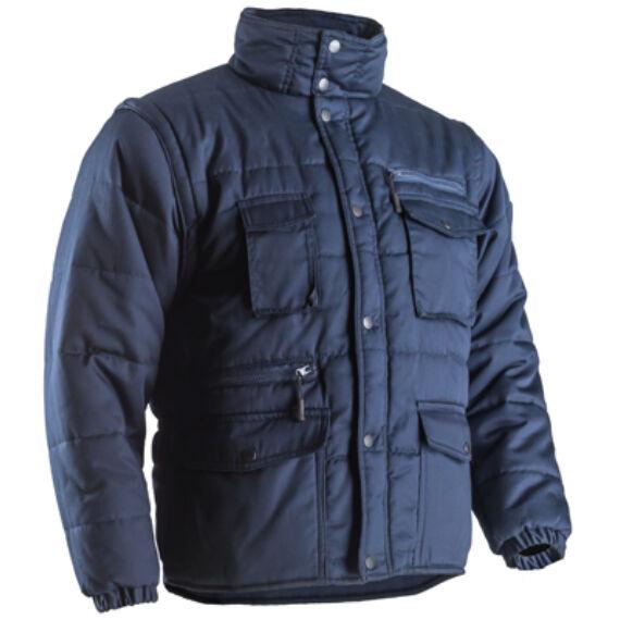 Polena-Sleeve kék kabát (XS-4XL)