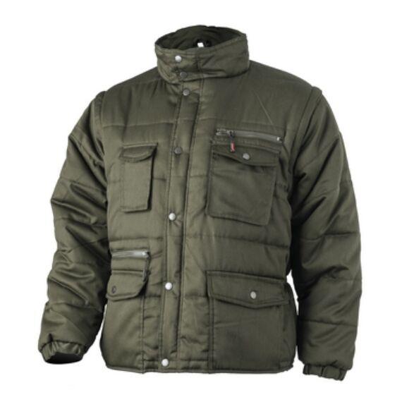 Polena-Sleeve zöld kabát (XS-3XL)