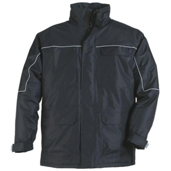Ripstop fekete kabát (S-4XL)