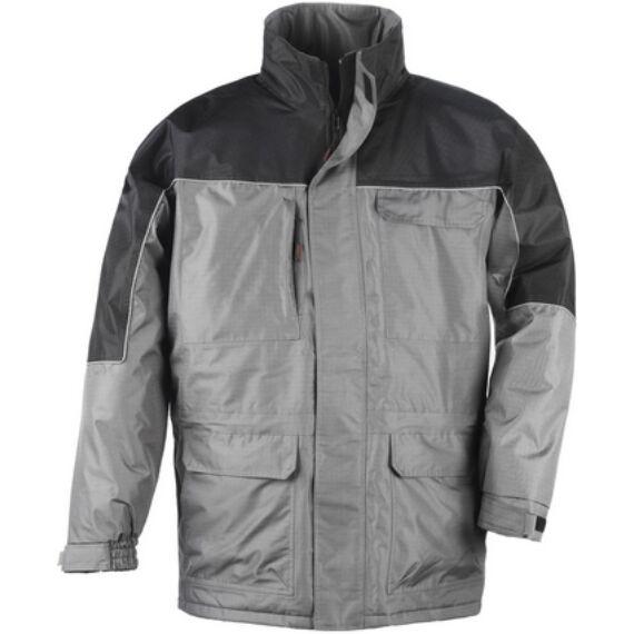 Ripstop szürke/fekete kabát (S-3XL)