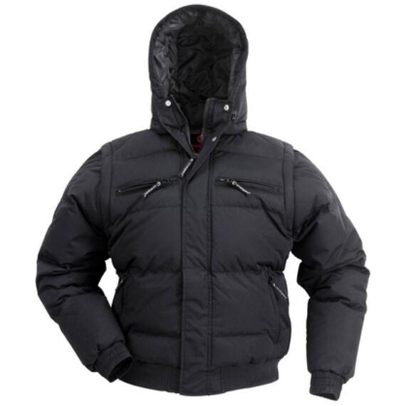 Toun Taslan fekete dzseki (S-2XL)