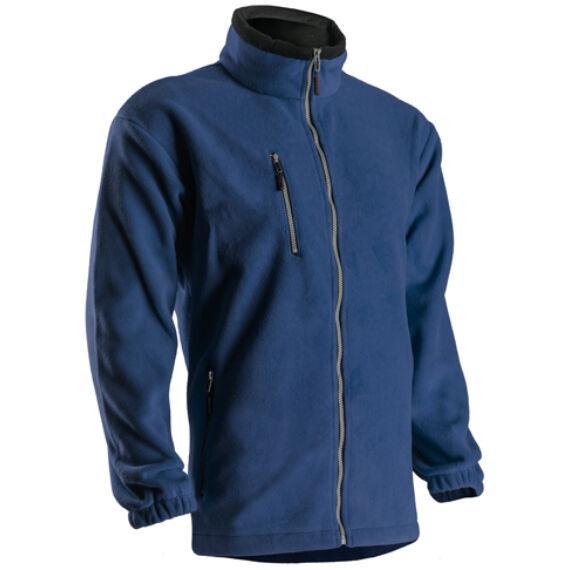 Angara kék cipzáros pulóver (XS-3XL)