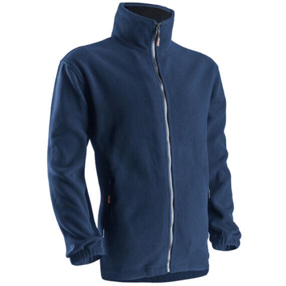 Polár pulóver cipzáras kék színben (XS-3XL)