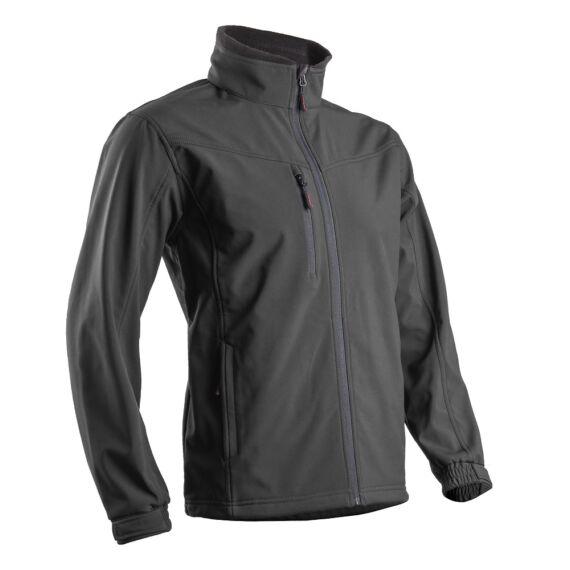 Yang II fekete softshell kabát (S-3XL)