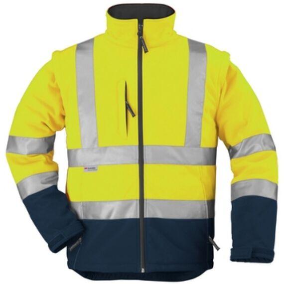 Fluo dzseki sárga/kék (S-3XL)