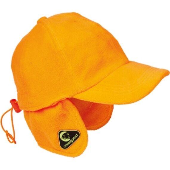 Covercap fluo narancs téli bélelt sapka