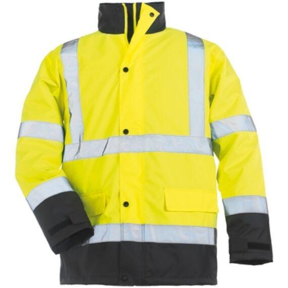 Roadway sárga/kék PES kabát (S-5XL)